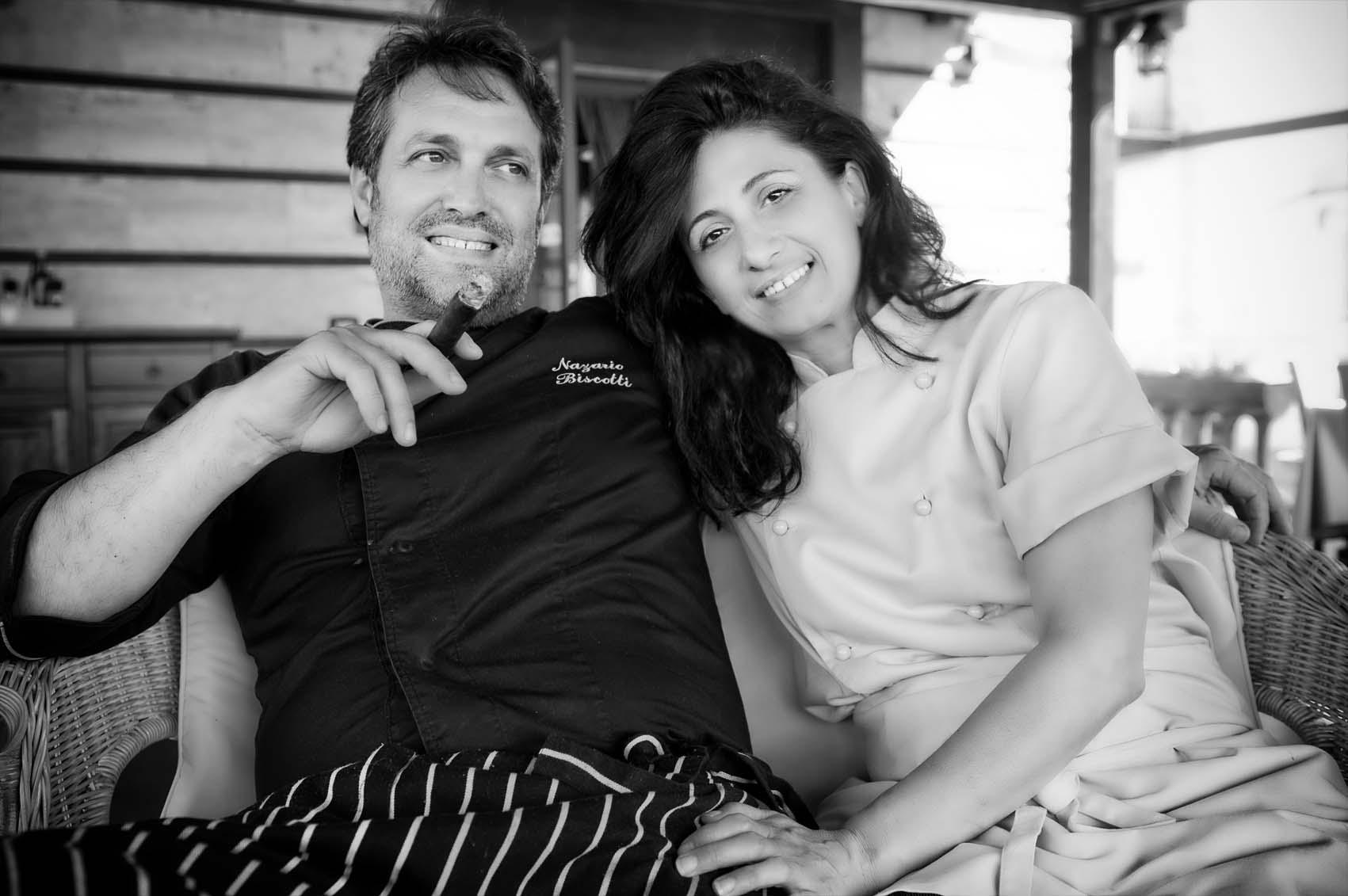 Nazario e Lucia Biscotti e - Ristorante Le antiche sere - Lesina (FG)